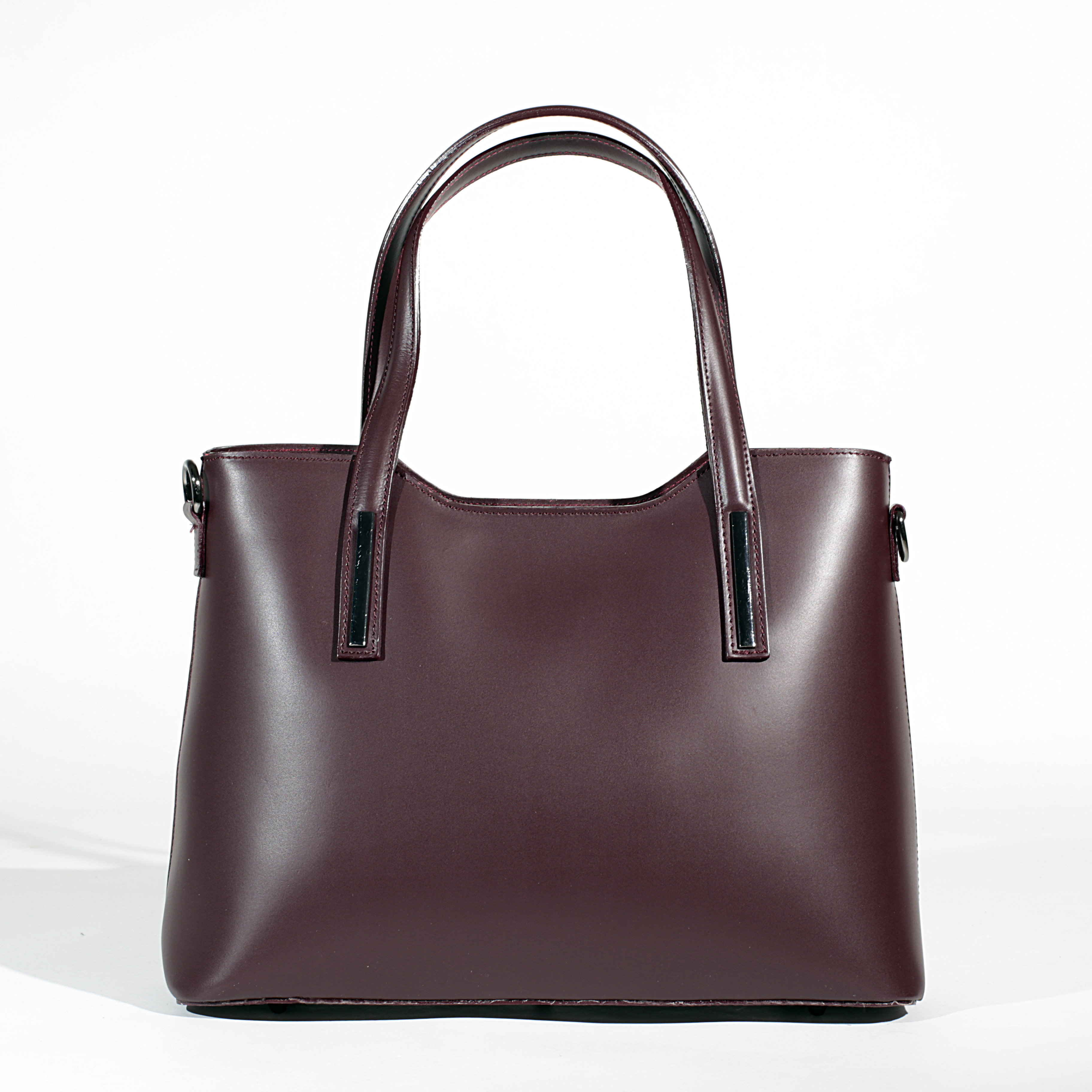 9495288c96 Letaher Tote bag with two handles